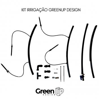 Kit Jardim Vertical 6 módulos + Irrigação